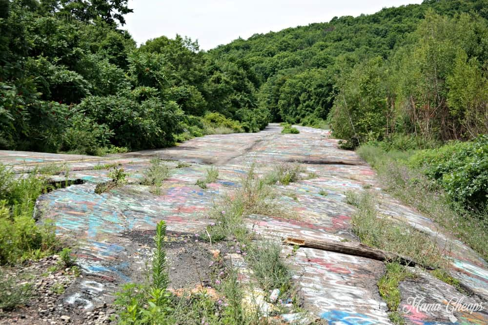 Exploring Graffiti Highway in Centralia
