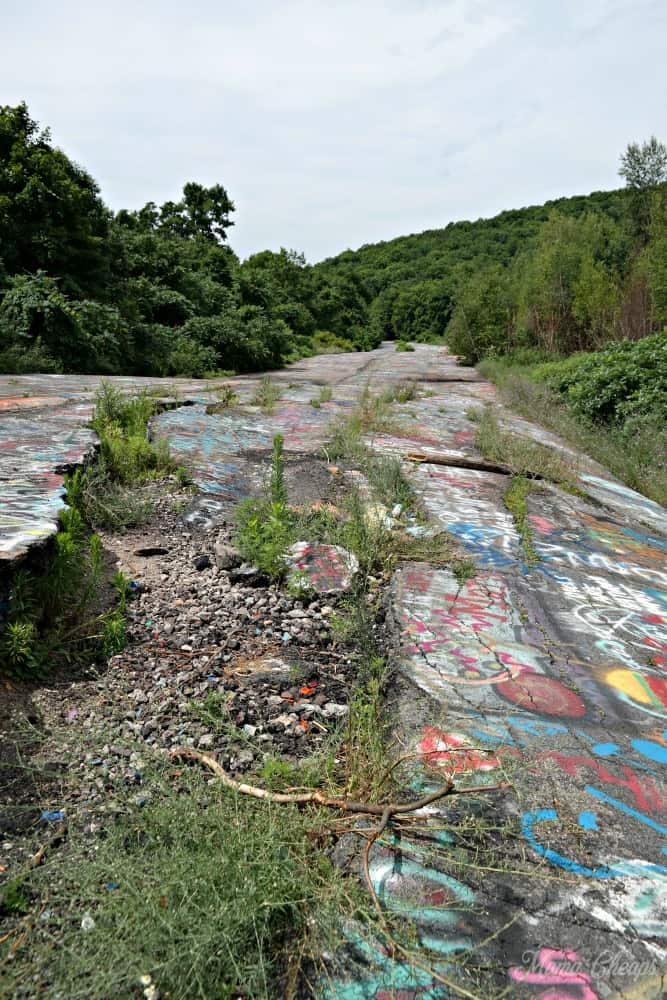 Centralia Graffiti Highway 2