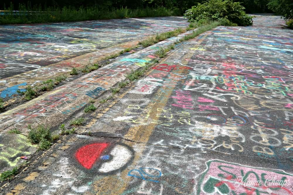 Centralia Graffiti Highway 6