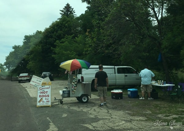 Centralia Hot Dog Vendor