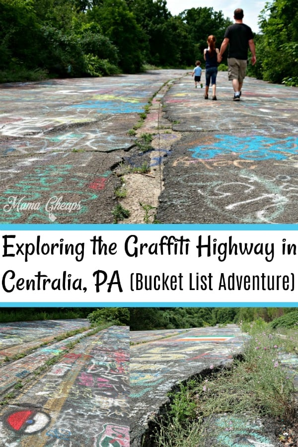 Graffiti Highway in Centralia