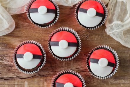 How to Make Pokeball Cupcakes