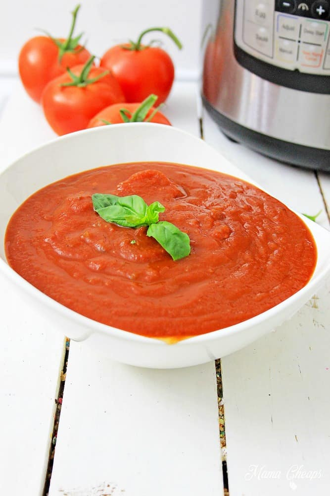 Instant Pot Spaghetti Sauce Recipe 2
