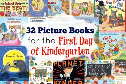 Picture Books for the First Day of Kindergarten