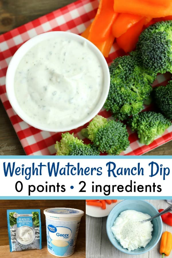 Weight Watchers Ranch Dip Zero Points