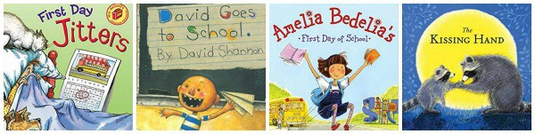 first day of school books 1