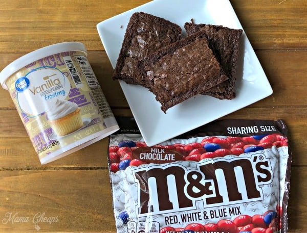 flag brownie supplies
