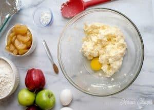 Adding Eggs to Batter