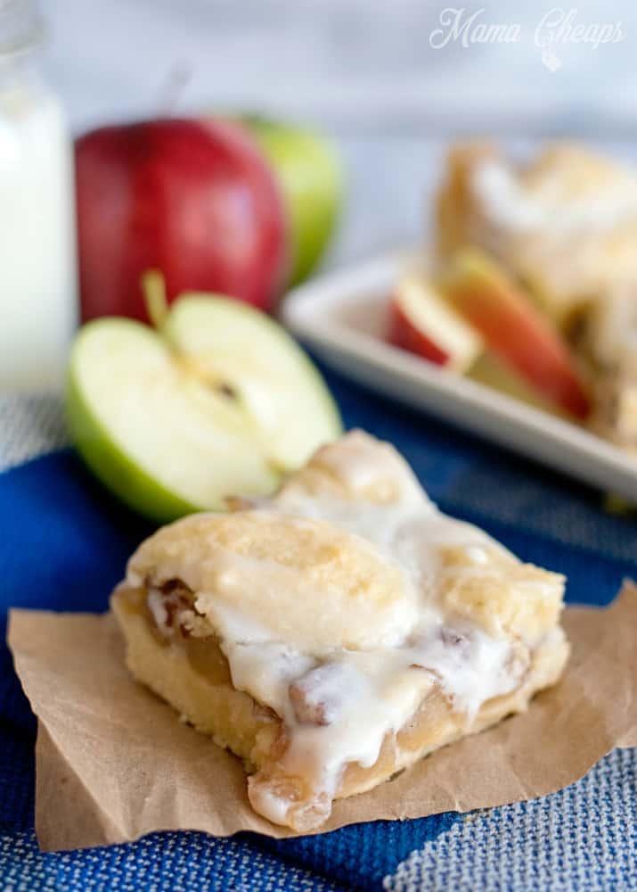 Apple Pecan Pie Bars Snack