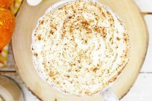Cinnamon Topped Latte