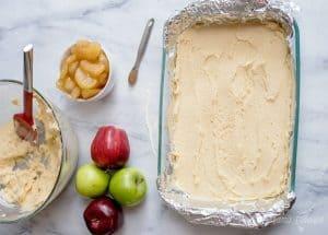 Spread pie crust in pan