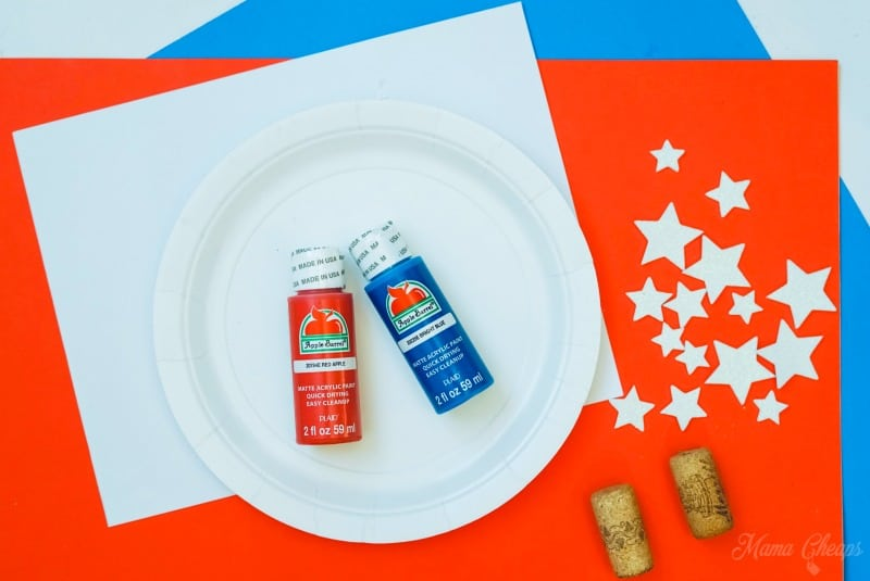 Wine Cork Flag Supplies