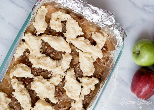 apple pie crust topping
