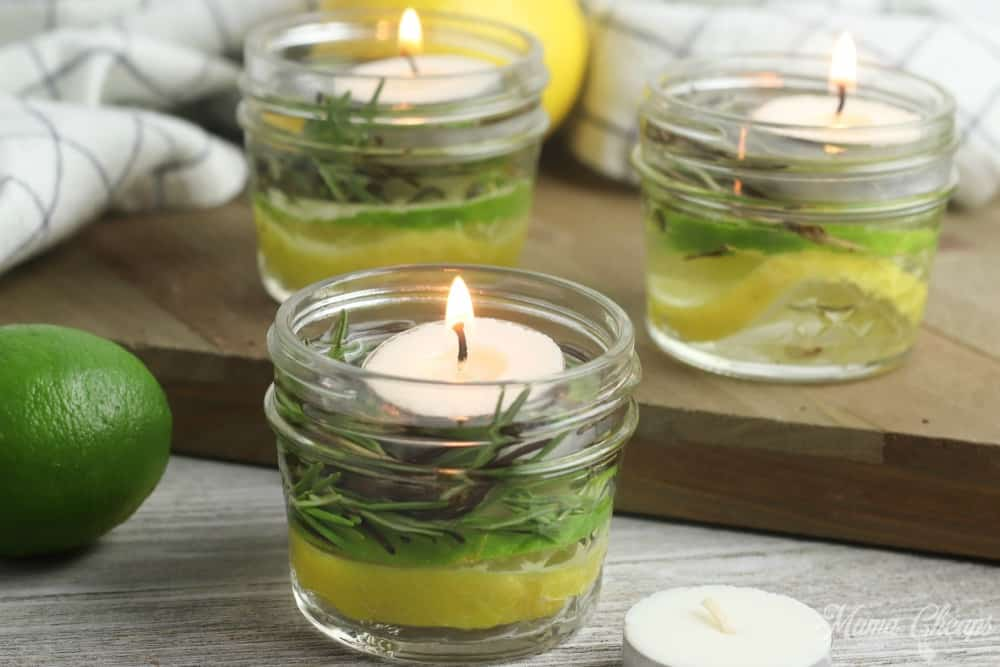 Easy DIY Bug Repellent Candle Jars