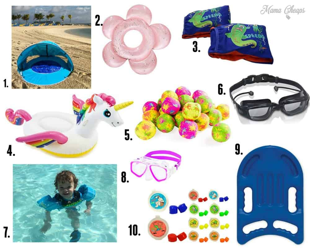 summer pool essentials for kids