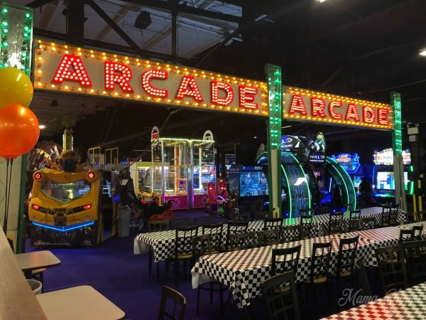 Arnolds family fun center arcade