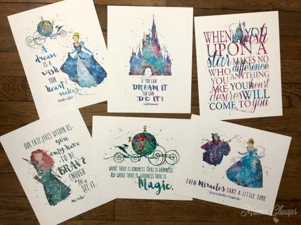 disney quotes characters paper prints was mama
