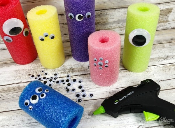 Glue Gun Googly Eyes