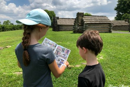Kids in Valley Forge Park