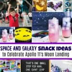 Space and Galaxy Snack Ideas to Celebrate Apollo 11's Moon Landing