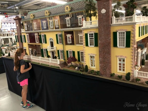 giant doll house