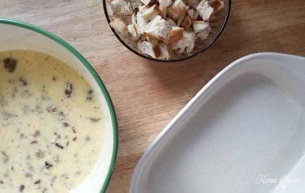 Bagel Breakfast Casserole Step 6 WM