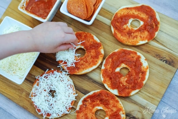 Cheese on Bagels