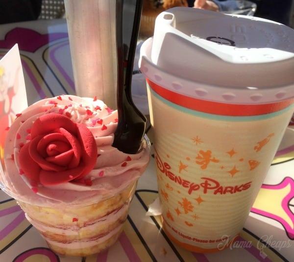 Cheshire Cafe Disney Cupcake Coffee