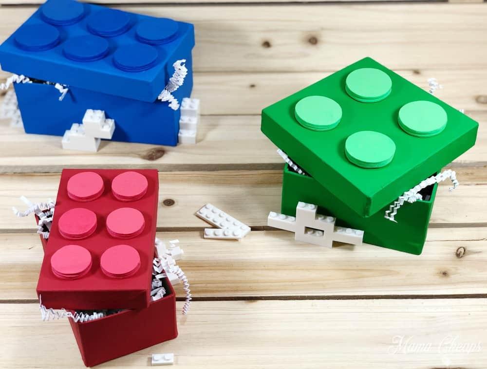 DIY LEGO Boxes