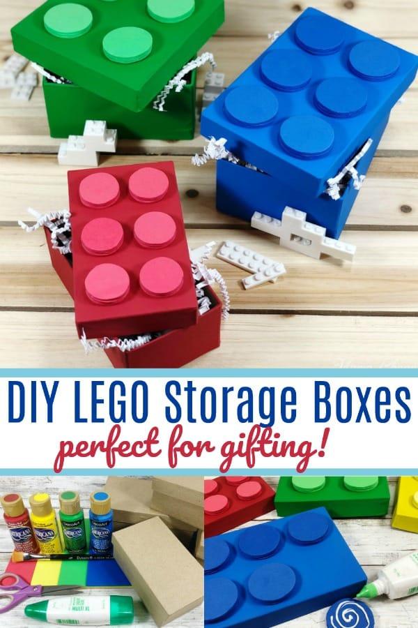 DIY LEGO Storage Boxes