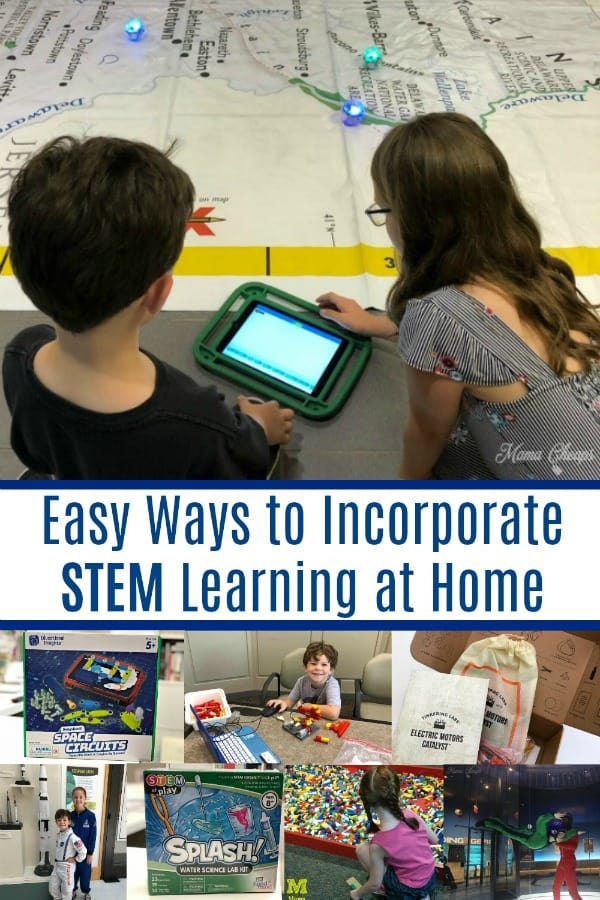 Easy Ways to Incorporate STEM Learning at Home