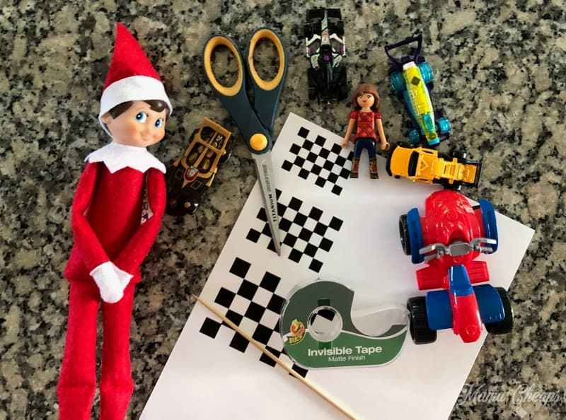 Elf Race Car supplies