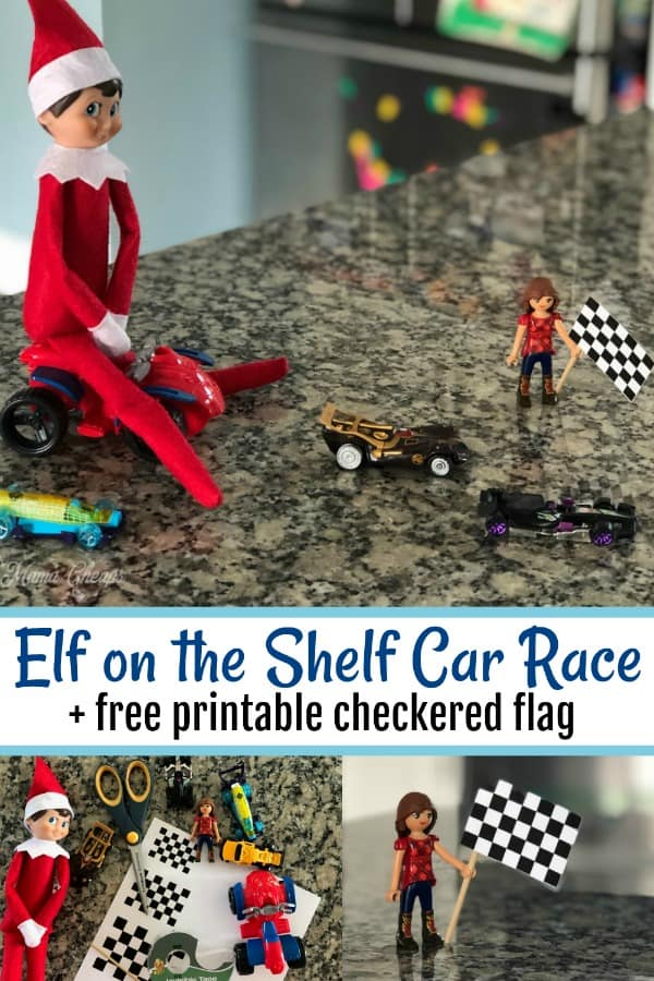Elf on the Shelf Car Race