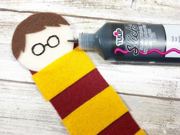 Harry Potter Bookmark Painting Glasses