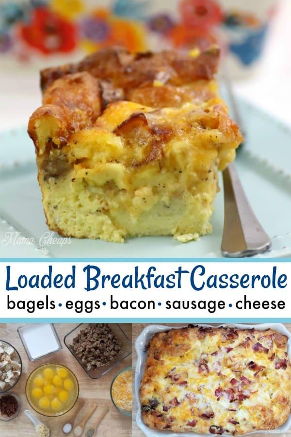 Loaded Breakfast Casserole Recipe