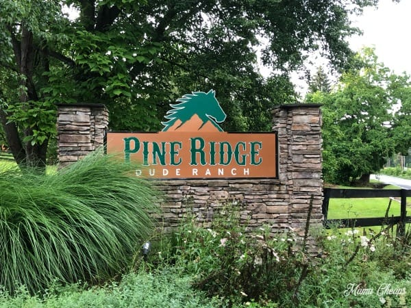 Pine Ridge Dude Ranch Sign