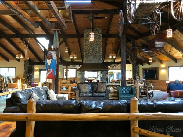 Pine Ridge Ranch Lobby