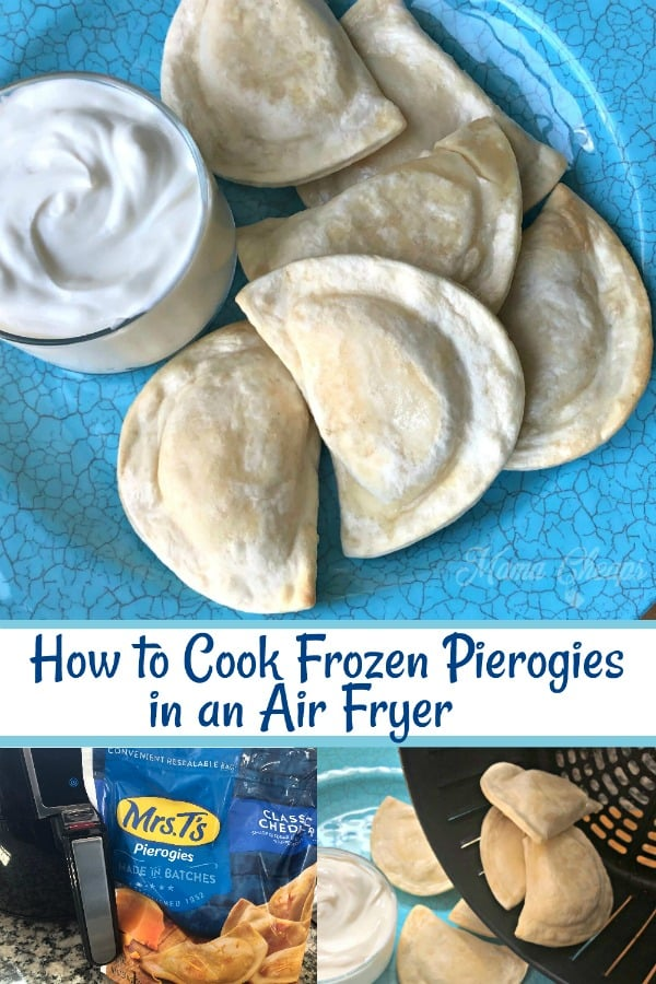 how to cook frozen pierogies in Air Fryer