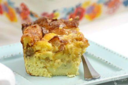 loaded breakfast casserole feature