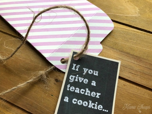 Cookie Teacher Tag Hole Punch