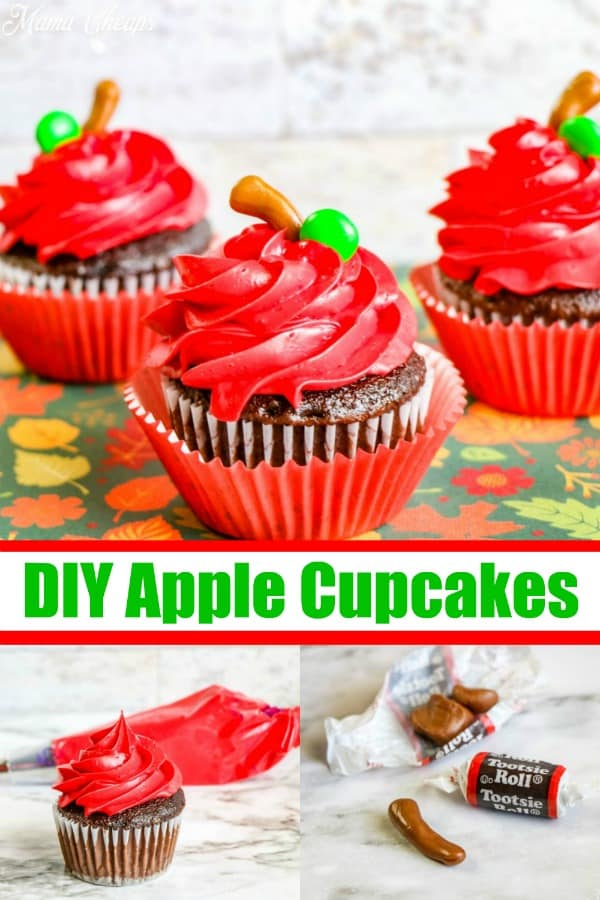 DIY Apple Cupcake Tutorial