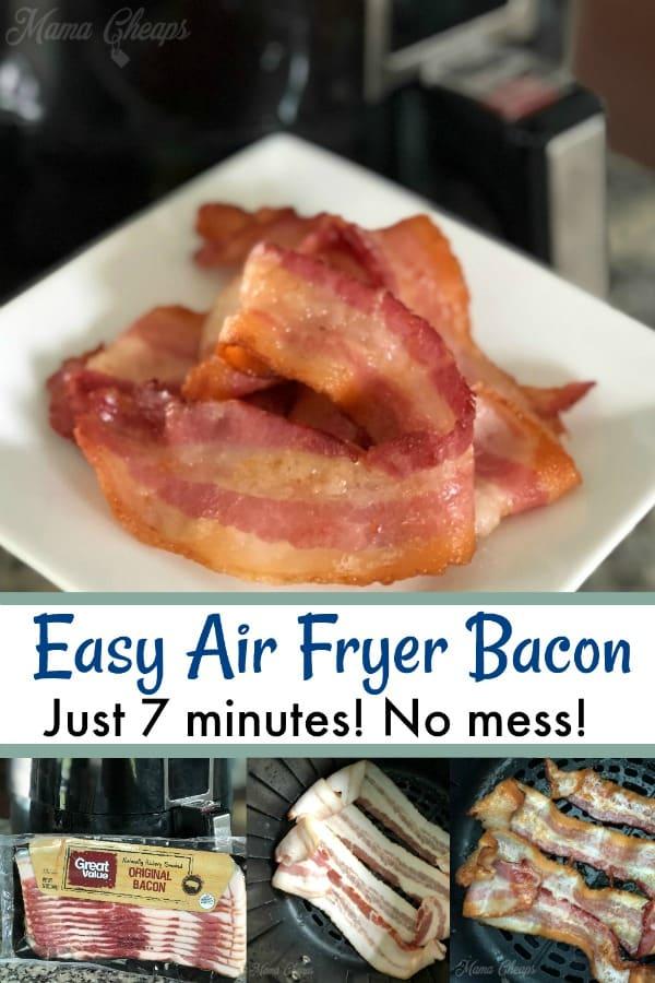 Easy Air Fryer Bacon