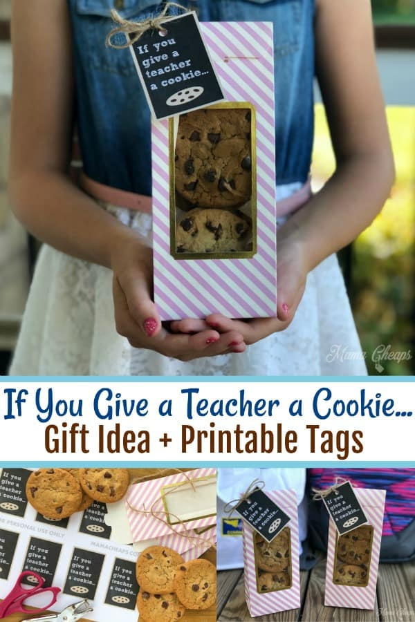 If You Give a Teacher a Cookie First Day Gift