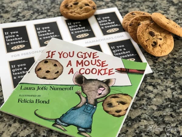 If you give a mouse a cookie book gift