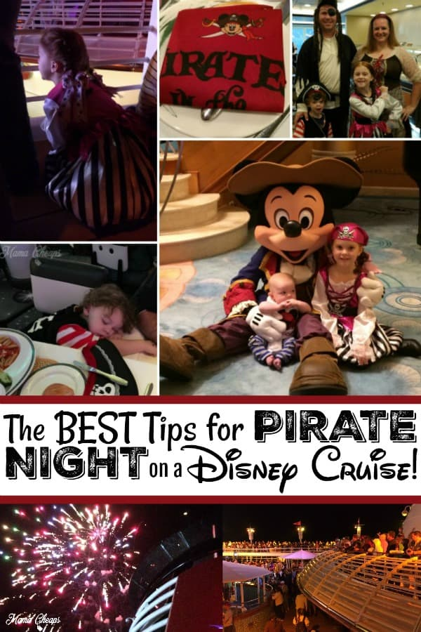best tips for disney cruise pirate night