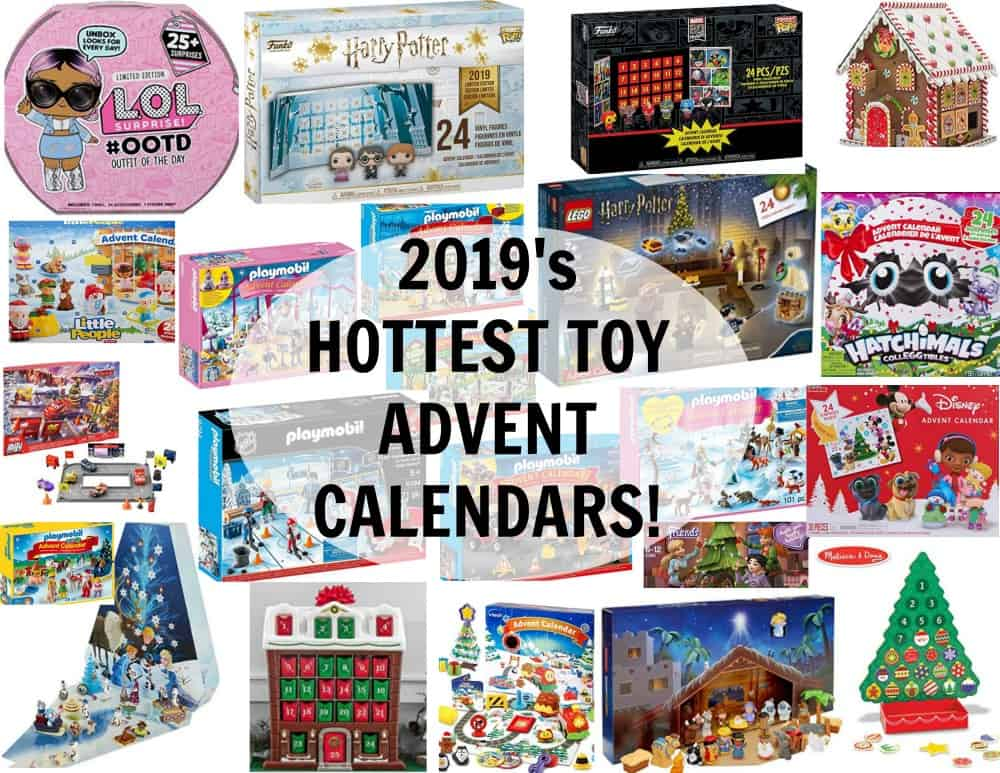 best toy advent calendars 2019