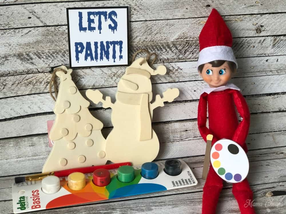 Artist Elf on the Shelf