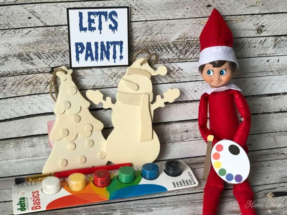 Artist Elf on the Shelf