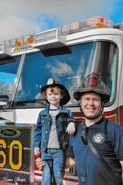 Bob Landon Fire Truck