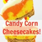 Candy Corn Cheesecakes 1